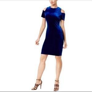 Suede Calvin Klein Dress
